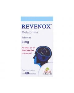 Revenox 3 mg oral 60 tabletas