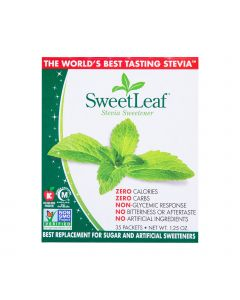 SWEETLEAF NATURAL STEVIA SWEETENER 35 PACK 1.25OZ