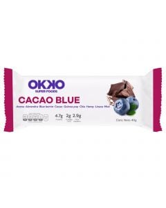 Okko Super Foods Bar Cacao Blue