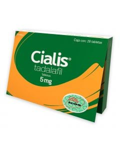 Cialis 5 mg oral 28 tabletas