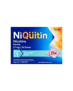Niquitin 21 mg etapa 1 c/7 parches