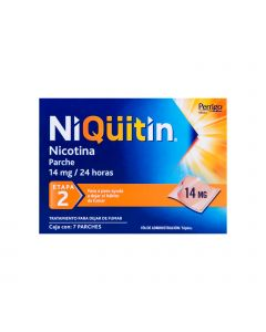 Niquitin 14mg etapa 2 c/7 parches
