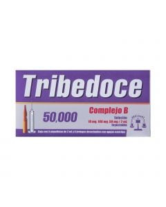 Tribedoce 50-000 2ml  con 5 ampolletas