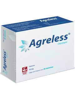 Agreless 75 Mg. Oral 28 Tabletas