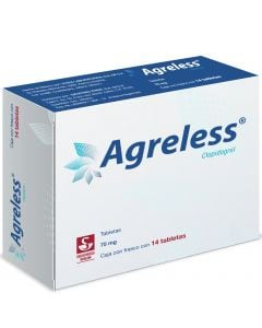 Agreless 75 Mg. Oral 14 Tabletas