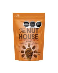 THE NUT HOUSE Nuez pecanera chipotle 90g