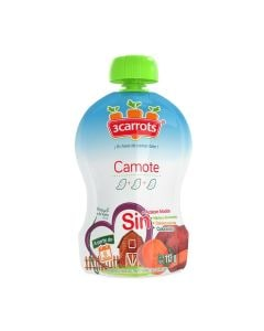 3 carrots camote 113 gr