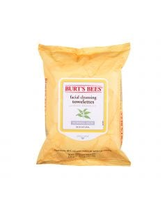 Burts bees towelettes fac white tea