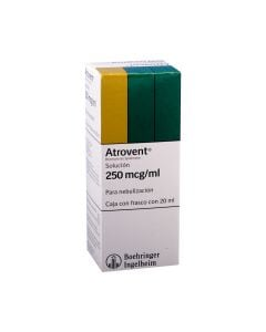 Atrovent 250 mc g. oral/nas 20 ml. solucion
